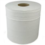 White 2 Ply Paper Wipes...