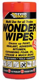 Everbuild Multi-Use Wonder Wipes (100) Tub