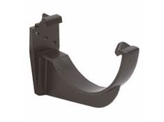 HALF ROUND CAST IRON FASCIA BRACKET   RK1CI BLACK