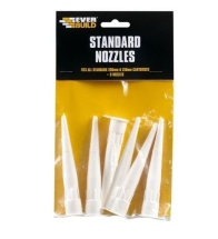 STANDARD NOZZLE TO SUIT 310ml MASTIC TUBES pkt 6