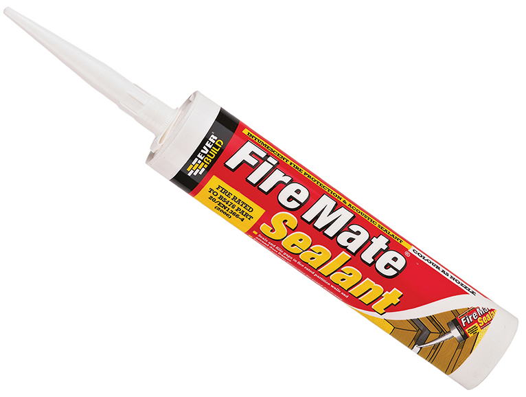 EVERBUILD WHITE FIRE MATE INTUMESCENT ACRYLIC SEALANT 310ml