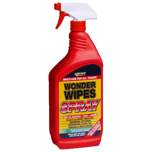 Everbuild Multi-Use Wonder Wipe Spray 1,Litre