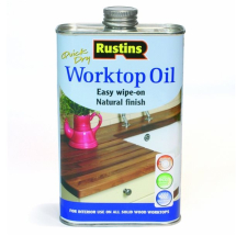 RUSTINS QUICK DRY WORKTOP OIL 500ml