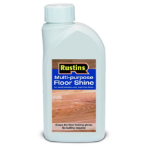 RUSTINS FLOOR SHINE FOR WOOD CORK & VINYL 1 litre