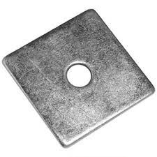 SQUARE PLATE WASHER 50mm x 50mm x M10 Hole