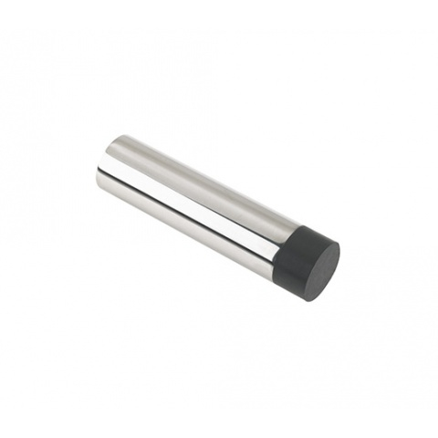 ZAS08B DOOR STOP HOLLOW PROJECTION WITHOUT ROSE SATIN STAINLESS