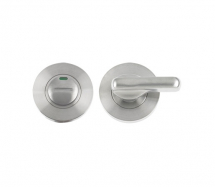 ZOO HARDWARE ZPS006ISS DISABLED TURN & RELEASE WITH INDICATOR 5mm SPINDLE SATIN STAINLESS STEEL