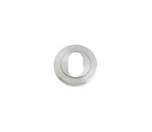 ZOO HARDWARE ZPS002SS STANDARD PROFILE ESCUTCHEON SCREW ON ROSE SATIN STAINLESS STEEL