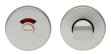 EUROSPEC EST4005SAA STANDARD THUMBTURN AND RELEASE SATIN ALUMINIUM