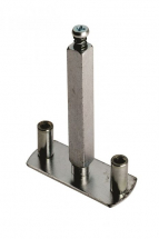 EUROSPEC ALP5038 HALF SET FIXING PLATE FOR BOLT THROUGH FURNITURE