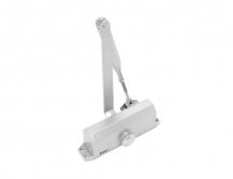 BRITON 121.SES SIZE 2-4 OVERHEAD DOOR CLOSER SILVER