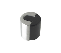 ZAS86SS DOOR STOP FLOOR MOUNTED ROUND SATIN STAINLESS