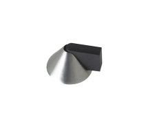 ZAS89SS DOOR STOP FLOOR MOUNTED CONE SATIN STAINLESS