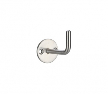 CIRCULAR SINGLE ROBE HOOK ZAS74SS