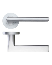 Virottia Lever On Round Rose DAT060SC (Satin Chrome)
