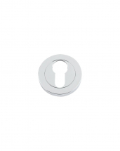 DAT001CP Euro Profile Escutcheon 50mm (Chrome Polished)