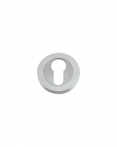DAT001SC Euro Profile Escutcheon 50mm (Satin Chrome)