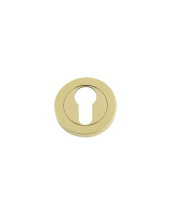 DAT001PVD Euro Profile Escutcheon 50mm (Anti Tarnish Brass)