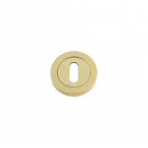 DAT002PB Standard Profile Escutcheon 50mm (Polished Brass)