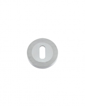 DAT002SC Standard Profile Escutcheon 50mm (Satin Chrome)