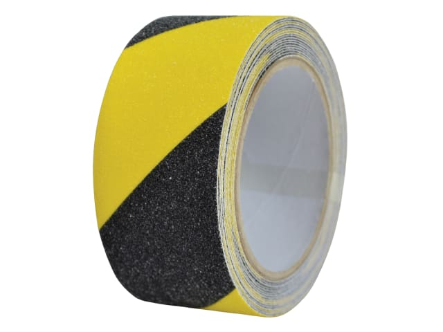 ANTISLIP TAPE SELF ADHESIVE BLACK / YELLOW50mm X 3MTR