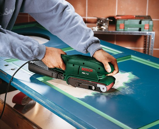 Bosch PBS 75A Belt Sander 240v only