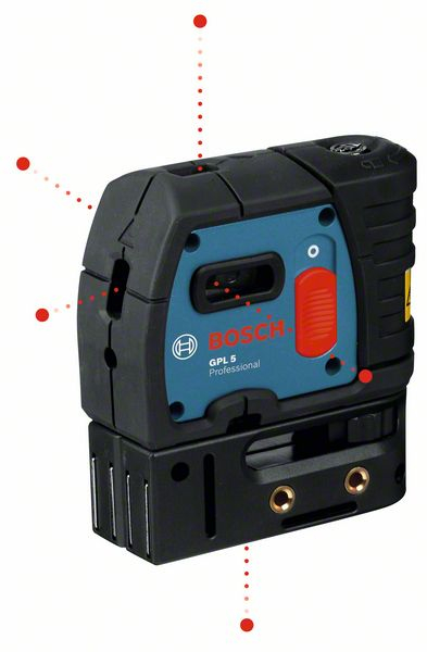 BOSCH GPL5 POINT LASER 0601066200