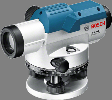 BOSCH GOL20D OPTICAL LEVEL (20X MAGNIFICATION) 0601068400