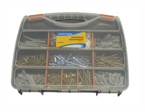 Crown ZY9890 Screw Fixing Set 980 pieces