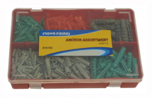 GENERAL ASSORTMENT WALL FIXING PLUGS 445 pieces