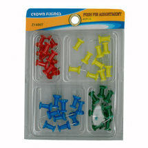Crown ZY4007 Push Pin Set
