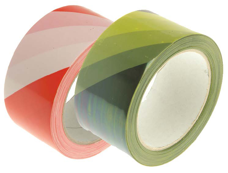 Hazard Warning Safety Tape 50mm x 30metre