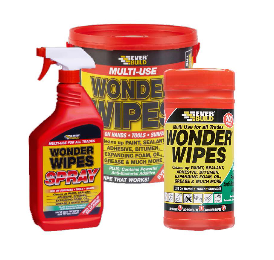 Everbuild Multi-Use Wonder Wipes
