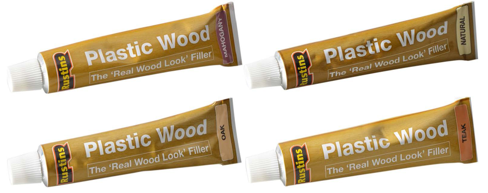 Rustins Plastic Wood Tube 125ml