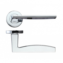 Zoo Hardware RM030 Pavo Lever on Round Rose