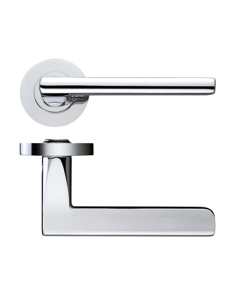 ZPZ080 Amalfi Lever On Round Screw On Rose
