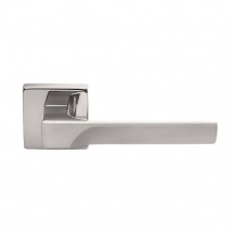 CARLISLE BRASS MANITAL FLASH LEVER ON SQUARE ROSE FH5