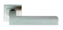 EUROSPEC SSL1401 ALVAR DESIGNER LEVER ON SPRUNG SQUARE ROSE
