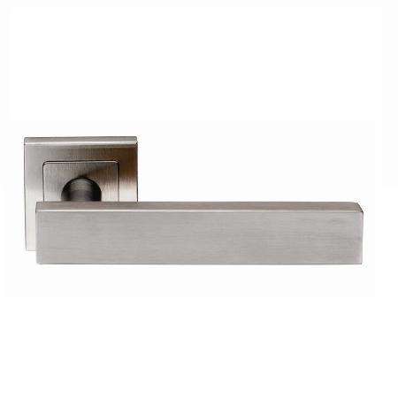 SSL1403 Steelworx 304 Stainless Steel Rectangular Lever On Square Rose