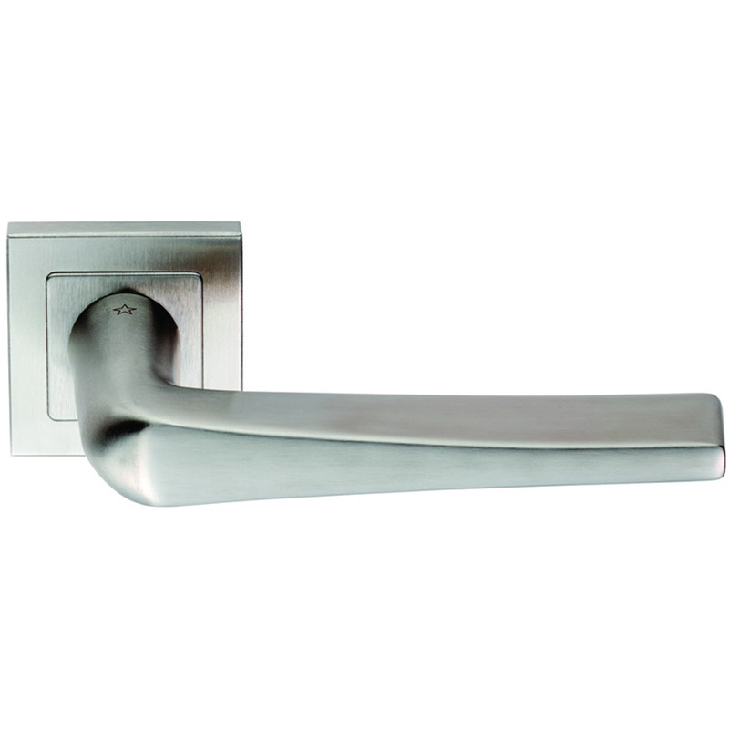 SSL1404 Steelworx 304 Stainless Steel Shaped Lever On Square Rose