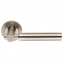 Carlisle Brass Eurospec Steelworx SWL1006 Astoria Lever Door Handle on Rose