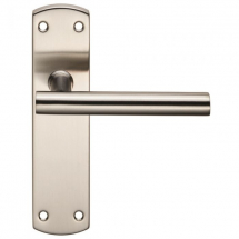 STEELWORX RESIDENTIAL T BAR LEVER ON BACKPLATE