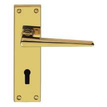 Carlisle Brass Victorian Contemporary Lever Furniture On Backplate