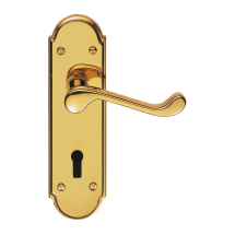 Carlisle Brass Garrick Suite Lever Furniture On Backplate