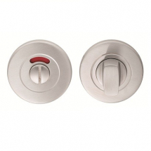 Carlisle Brass Eurospec Steelworx CST1015 304 Stainless Steel Thumbturn & Release (Push On Rose)