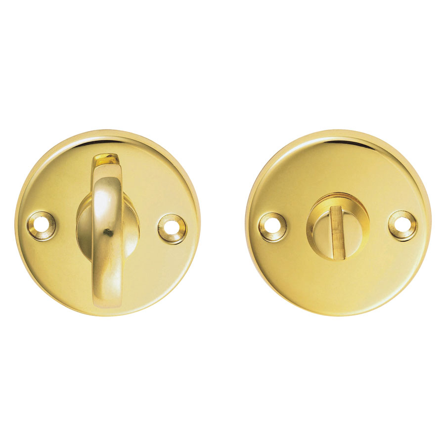 CARLISLE BRASS B12 PLAIN THUMBTURN & RELEASE