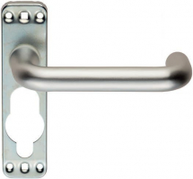 EUROSPEC LIP9001SAA SAFETY LEVER ON A INNER BACKPLATE