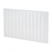 Hit & Miss Vent White Plastic