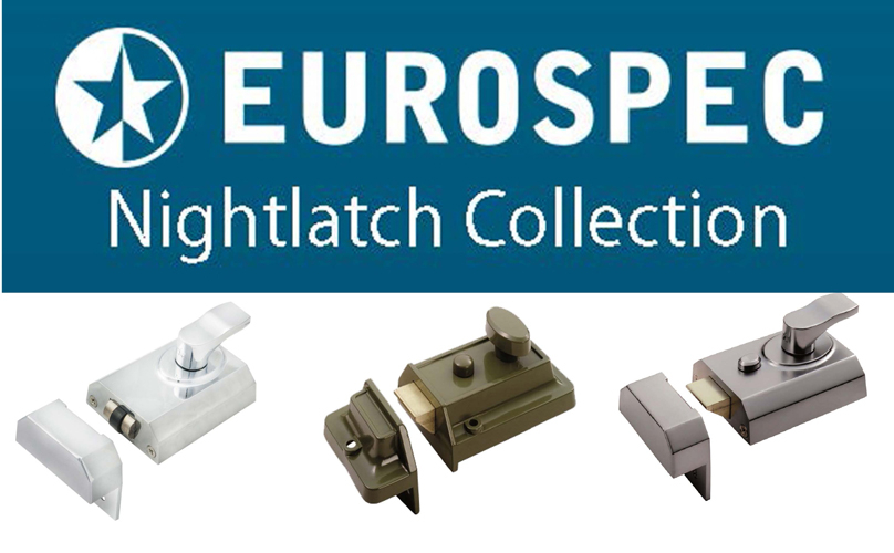 Eurospec Rim Nightlatch Collection