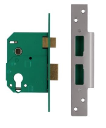Union L224402 Euro Profile Escape Nightlatch Sash Lock
